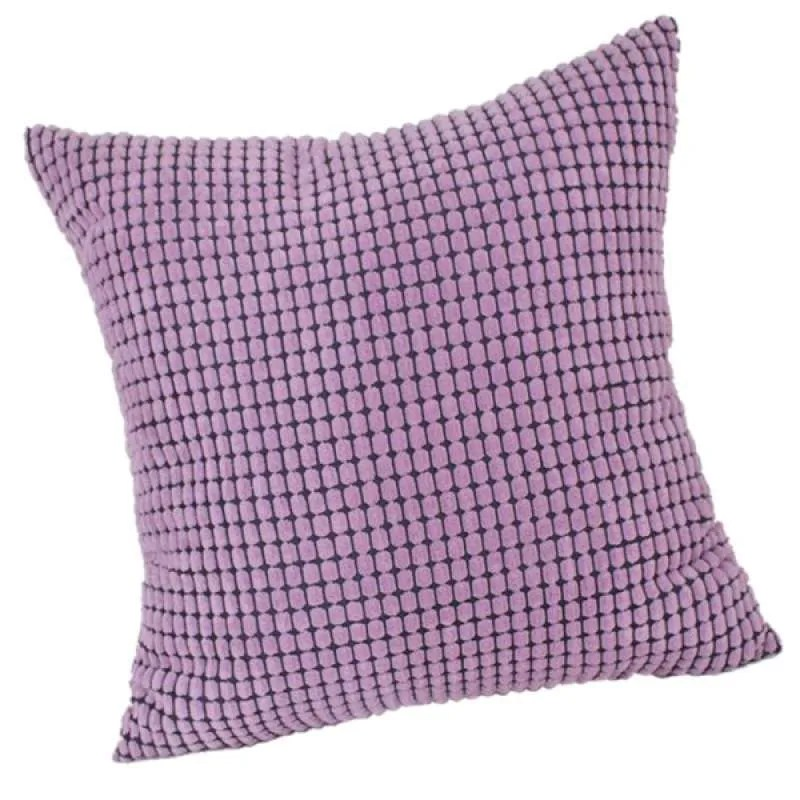 set of 1 corduroy soft soild decorative square throw pillow covers for couch