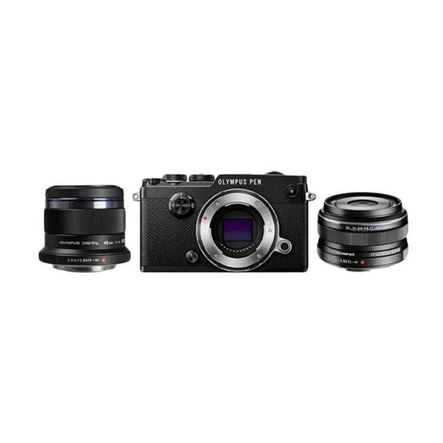olympus_olympus-pen-f---17mm-f-1-8---45mm-f-1-8-kamera-mirrorless---black_full02 8 Kamera Mirrorless Terbaik Untuk Video Yang Jernih