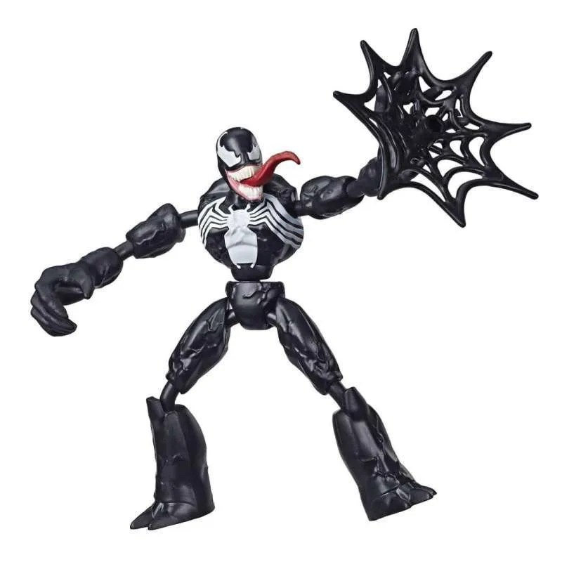 Jual Marvel Spiderman Bend And Flex Venom Action Figure Toy Terbaru Juni 2021 Blibli