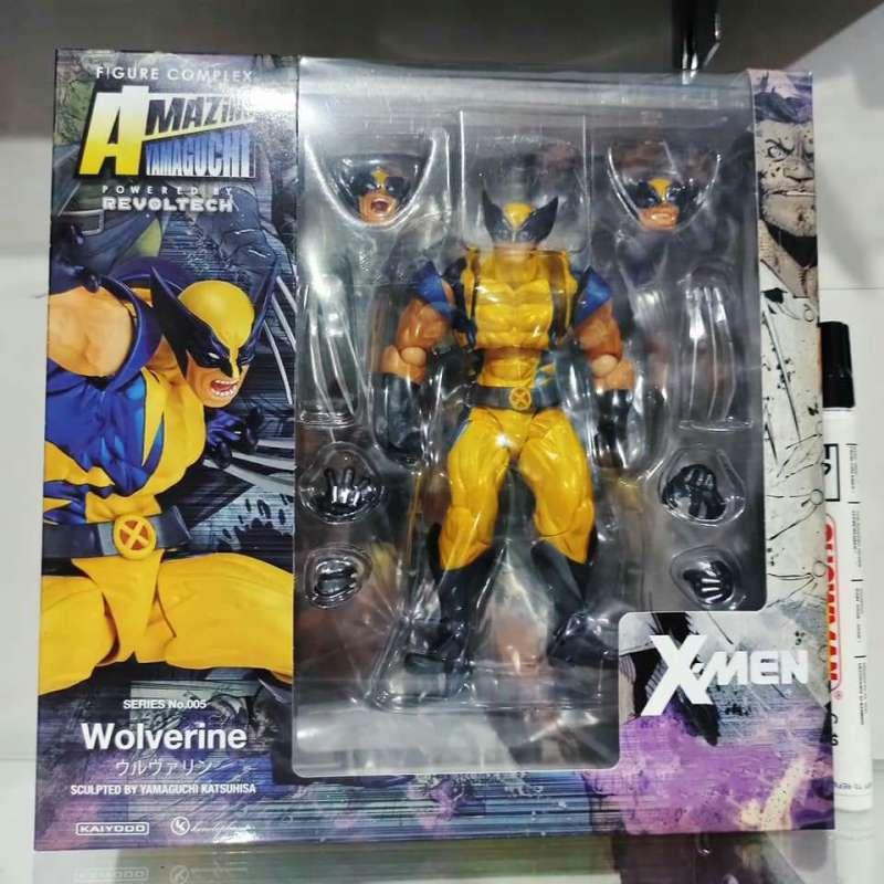 Jual Mainan Action Figure Revoltech Wolverine Xmen Revoltech Amazing Yamagichu Recast Full Artikulasi Detail Bagus Tinggi Sekitar 6 Inch Cwneppdhs Terbaru Juni 2021 Blibli