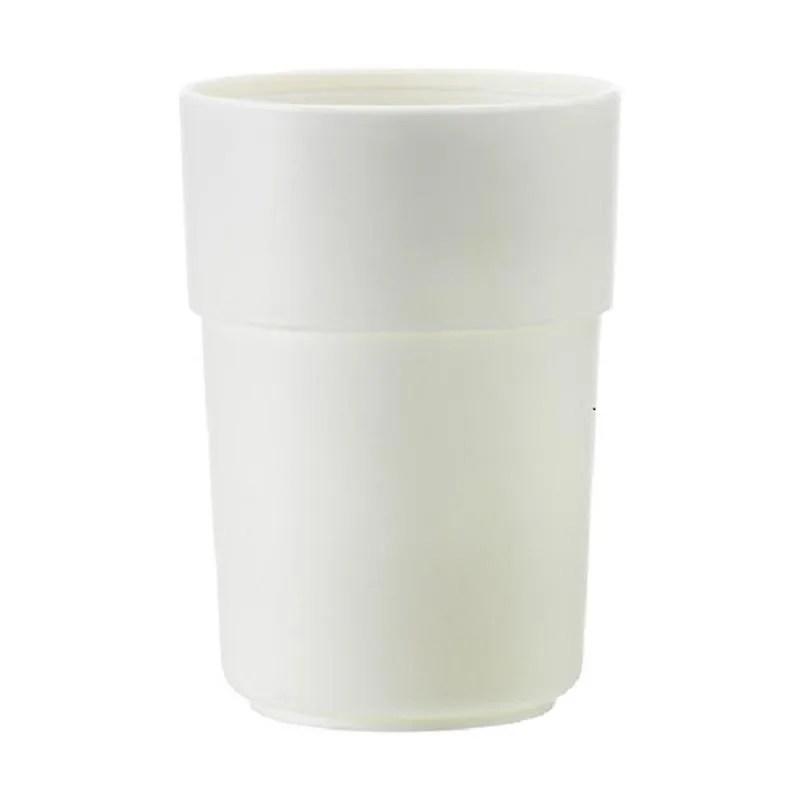 ikea enudden mug peralatan kamar mandi putih