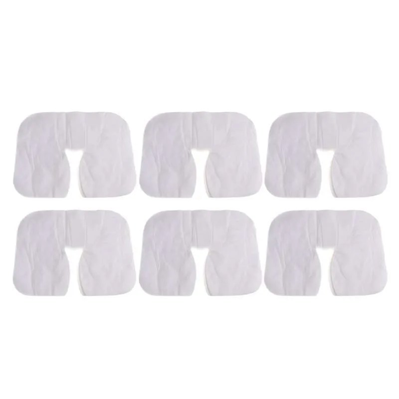 600pcs disposable non woven fabric face hole mat pad bed pillow towel cover
