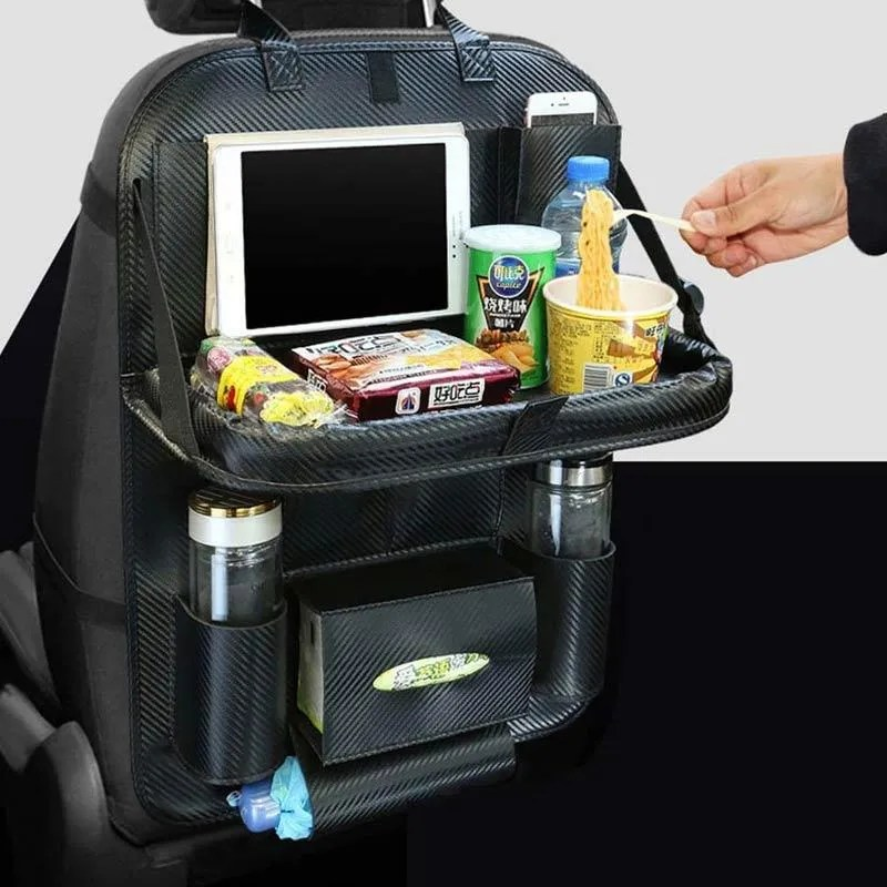 Jual Eds Automobile Seat Storage Hanging Bag Dining Table For Car Vehicle Back Chair Bag Online Oktober 2020 Blibli Com