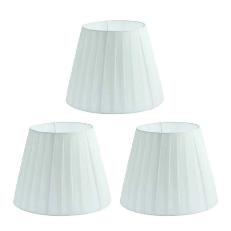 Jual 3pcs Simple Table Lamp Shade Bedside Lamp Light Shade Cover Fabric Light Shade Style For Living Room Floor Lamp Bedside Lamp White Online September 2020 Blibli Com