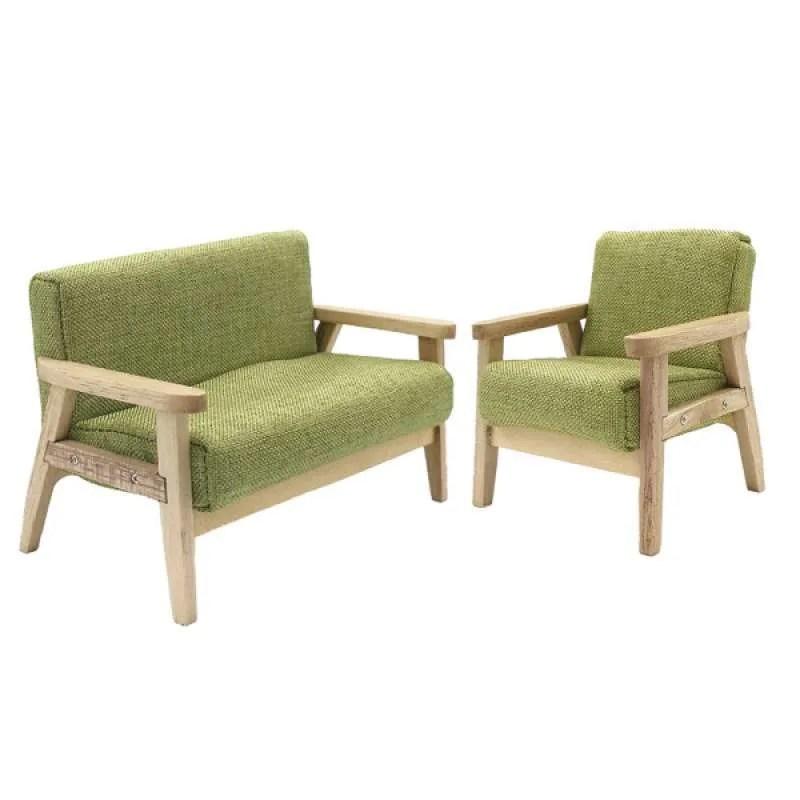Oem Dollhouse Sofa For Living Room Furniture Decor Parts Green 2 Pack 1 12 Scale Terbaru Juli 2021 Harga Murah Kualitas Terjamin Blibli