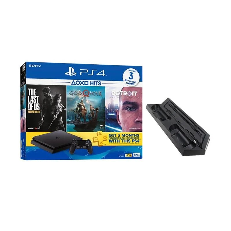 Sony ps4 slim 500 gb seri 2218a + 1 stik ori ps4, rp.3.700.000. √ Sony Ps4 Slim Hits Edition With Slim Cooling Fan Game Console 500 Gb Terbaru Agustus 2021 ...