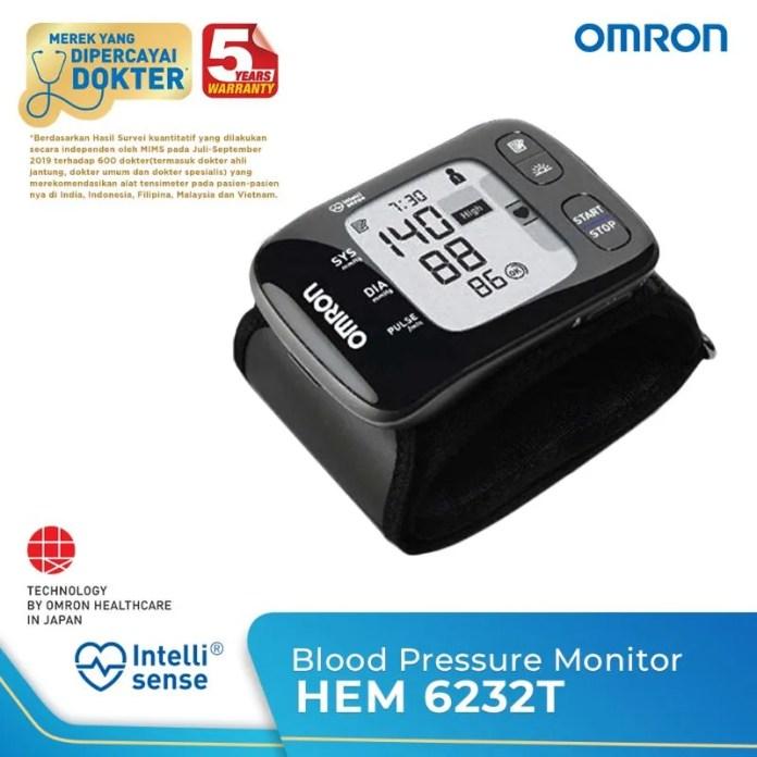 Jual Omron Hem 6232t Connected Tensimeter Digital Pergelangan Tangan Online Maret 2021 Blibli