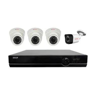 CP Plus Mix Paket Kamera CCTV with UPS [4 Channel/ 2 MP]