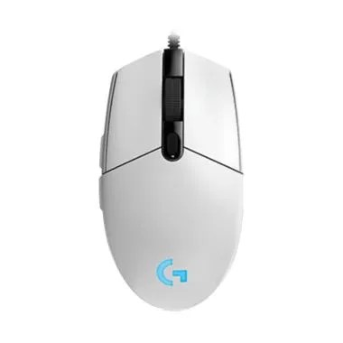 Logitech G102 Prodigy Gaming Mouse - White