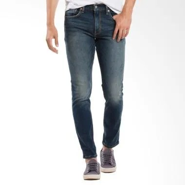 Levi's 512 Slim Taper Fit Jeans Cel ... on Dark Blue [28833-0150]