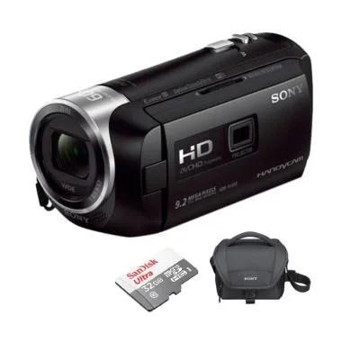SONY PJ410 Handycam + Free Tas + Memory