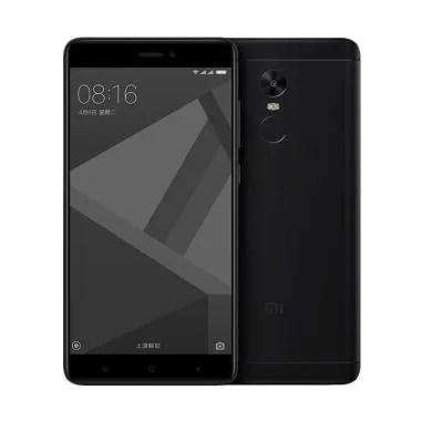 Xiaomi Redmi Note 4X Smartphone - Hitam [64 GB/ 4 GB]