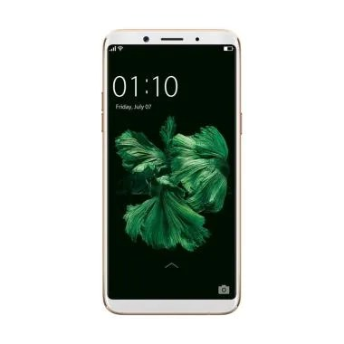 OPPO F5 Youth Gold + Handphone Prince PC-5