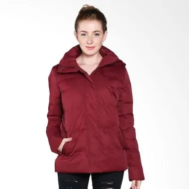 COLDWEAR 14604 Winter Down Jacket Wanita -  Burgundy