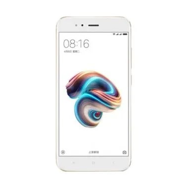 Xiaomi Mi 5x Smartphone - Gold [64GB/ 4GB] Free Tongsis