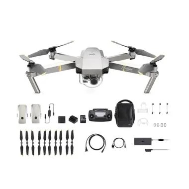 DJI Mavic Pro Platinum Fly More Combo Drone