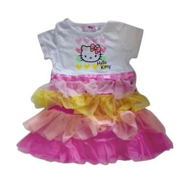 Cutemiel HK Rainbow Dress Anak Perempuan