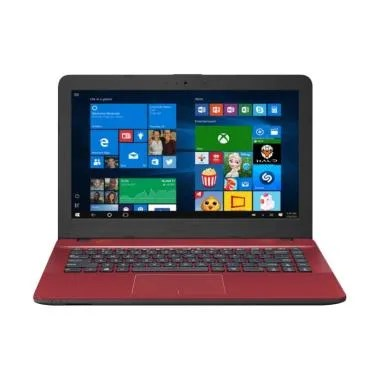 Asus X441BA-GA903T Laptop -Merah [A ... HDD 1TB/Radeon R5/Win 10]