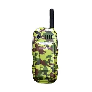 Brandcode B81 ARMY Handphone - Hijau [Dual SIM/10000 mAh]