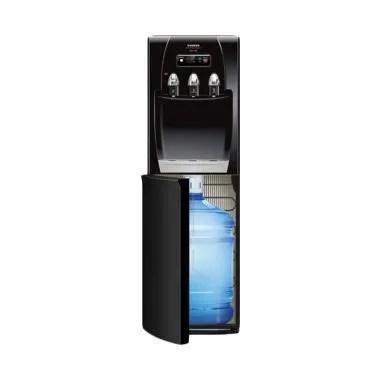 Sanken HWD-C202-SS Dispenser Air - Hitam [Galon Bawah]