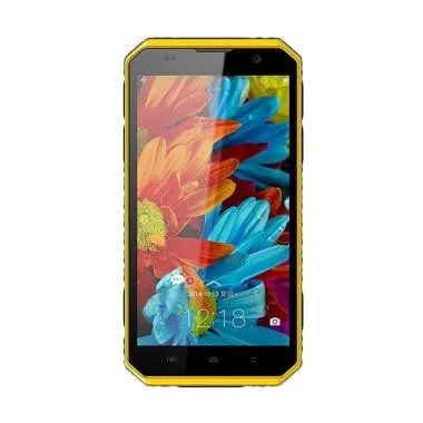 Kenxinda W9 Pro Smartphone - Black Yellow [32 GB/ 3 GB/ 4G/ IP68]