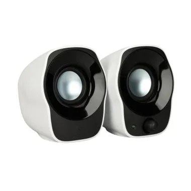 Logitech Z120 Speaker - Black White [Garansi Resmi]