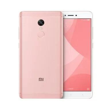 Xiaomi Redmi Note 4X Smartphone - Pink [64GB/RAM 4GB]