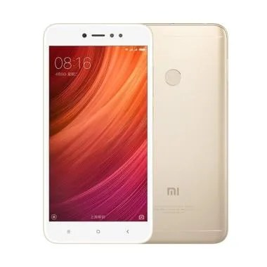 Xiaomi Redmi Note 5A Smartphone - Gold [64GB/ 4GB]Distributor