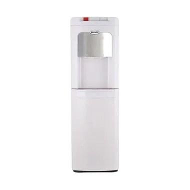 Sharp SWD-72EHL-WH Dispenser Air - Putih [Galon Bawah]