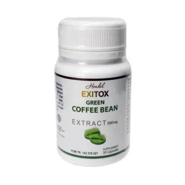 Green Coffee Bean Exitox Hendel Obat Pelangsing Herbal