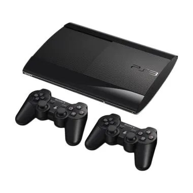 SONY PS3 Superslim Game Console ori ...  Black [500GB/ Full Game]