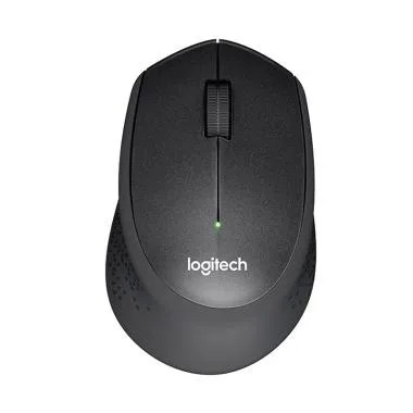 Logitech M331 Silent Plus Wireless Mouse - Hitam