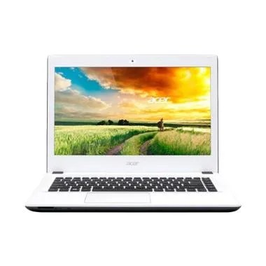 Acer Aspire E5-473G Notebook - Putih [14 inch/ i5-4210/ 4 GB/ Dos]