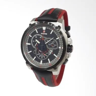 Expedition Jam Tangan Pria 6729MCLTBBARE - Silver