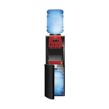 Sanken HWD Z88 Dispenser Air 3In1 - Hitam [Galon Atas Bawah]