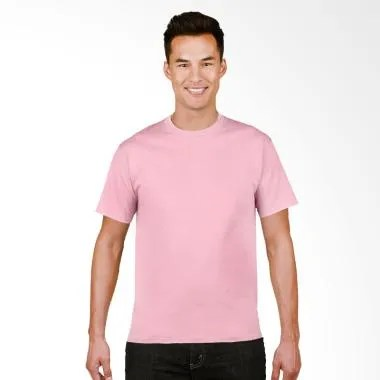 Gildan Original SoftStyle T-Shirt Pria - Light Pink