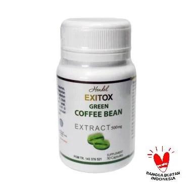 PROMO ( 4 BOTOL ) Exitox Green Coff ... t Pelangsing Herbal Ampuh