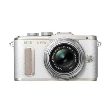 Olympus PEN E-PL 8 KIT 14-42mm EZ K ...  - Putih + Free SDHC 16GB