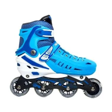 Power Line HB22 Recreational Inline Skate Sepatu Roda - Biru