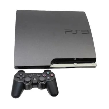 SONY PS3 Slim Playstation 3 Game Co ... D 160 GB + Bonus 16 Games