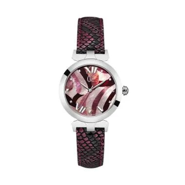 Guess Collection Gc Ladybelle Y2000 ... ngan Wanita - Pink Silver
