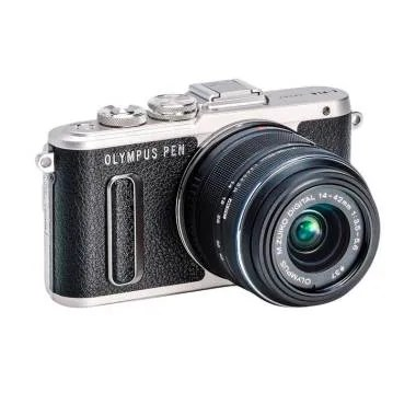 Olympus PEN E-PL8 Kit 14-42mm EZ Mi ... Kamera Mirrorless - Hitam