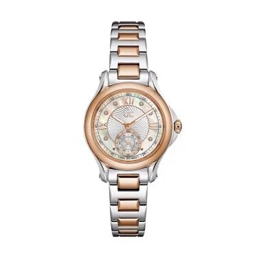 Guess Collection Gc Classic Chic X9 ... Wanita - Silver Rose Gold