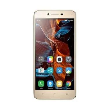 Lenovo Vibe K5 Smartphone - Gold [16GB/ 2GB] GARANSI RESMI
