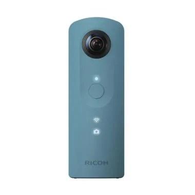 Ricoh Theta SC Action Camera - Blue fujishopid