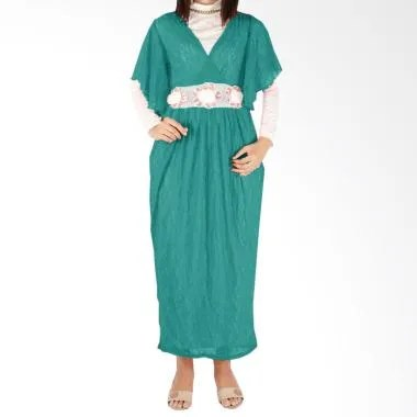 Iyesh HEMM6061 6061 Maxi Dress - Hijau