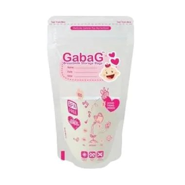 Gabag Breastmilk Storage Bag Girl Kantong Asi [100 mL]
