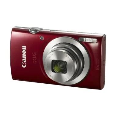 Canon Ixus 185 Kamera Pocket - Merah