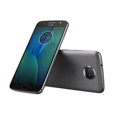 Motorola Moto G5s Plus Smartphone - GREY [32 GB/4 GB] GARANSI RESMI
