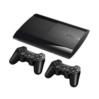 SONY PS3 Superslim Game Console - Black [250 GB/Full Game]